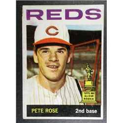 1964 TOPPS #125 PETE ROSE RETOUCHED o/w EXCELLENT