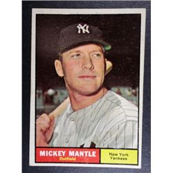 1961 TOPPS #300 MICKEY MANTLE VGEX