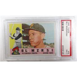 1960 Topps #55 Bill Mazeroski PSA 7 NM