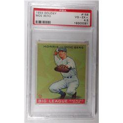 1933 Goudey #158 Moe Berg PSA 4.5 VGEX+