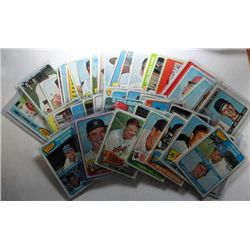 1965 Topps Lot 46 different cards, mostly Nice Ex