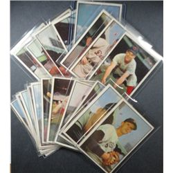 1953 Bowman Color Lot (19 diff. cards) Mostly VGEX+ to  EX