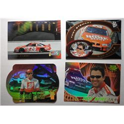 Tony Stewart Nascar Racing Cards (4 different)
