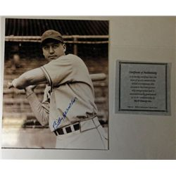 Autographed 8x10 Billy Herman Photo