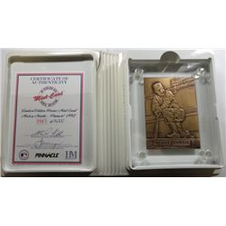 1992 Pinnacle MICKEY MANTLE Highland Mint .999 SILVER Collection