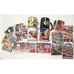 Jeff Gordon Coffee Mugs ( 4 diff) plus Race Cards