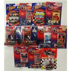 11-JEFF GORDON DIE CAST CARS, ALL DIFFERENT 1/64 SCALE
