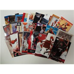 25-BASKETBALL CARDS, DWAYNE WADE, AMARE STOUDEMIRE, CARMELO ANTHONY