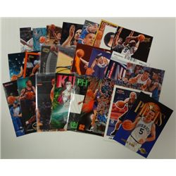 25-JASON KIDD BASKETBALL CARDS, ALL DIFFERENT PREMIUM BRANDS
