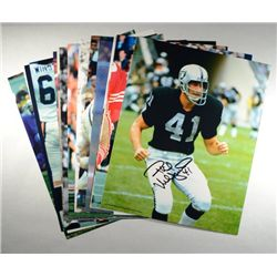 15 AUTOGRAPHED FOOTBALL PLAYERS 8X10 PHOTOS