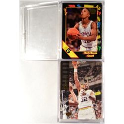 60+ UPPER DECK SPECIAL EDITION ELECTRIC COURT BASKETBALL CARDS PLUS 60 WILD CARD