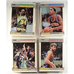 1987/88 FLEER BASKETBALL SET MISSING #59 JORDAN ONLY!