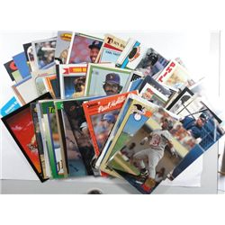 50-BASEBALL STAR CARDS FROM THE 1980'S & 90'S
