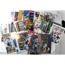 25- DIFFERENT FOOTBALL CARDS FOR THE 1980'S & 90'S ALL STARS