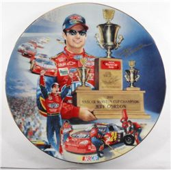 JEFF GORDON COLLECTORS PLATE 4-EVER A CHAMPION