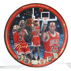 MICHAEL JORDAN COLLECTOR PLATE THE LAST SHOT