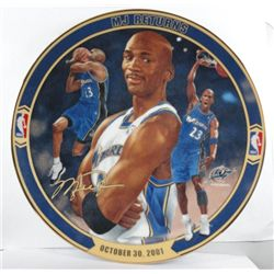 "MICHAEL JORDAN COLLECTOR PLATE ""MJ RETURNS"""