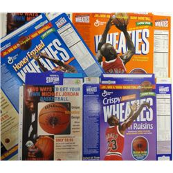 3-MICHAEL JORDAN WHEATIES BOXES, FACTORY ISSUED