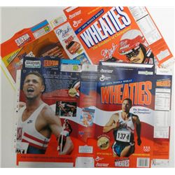 2-WHEATIES FLAT BOXES, DALE EARNHARDT SR & DAN O'BRIEN