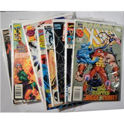 17-MARVEL COMIC BOOKS,X-MEN, SPIDER MAN  AND MORE