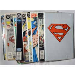17-DC COMIC BOOKS, MOSTLY SUPERMAN