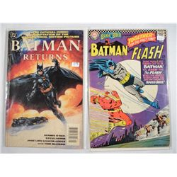 2-DC BATMAN COMIC BOOKS (1968 & 1992) EXCELLENT CONDITION