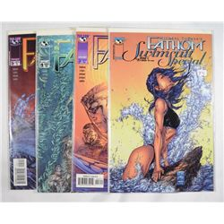 4-FATHOM COMIC BOOKS, SWIMSUIT SPECIAL PLUS MORE