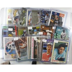 LOT OF STAR CARDS PEREZ, JOHNSON,BONDS, GRIFFEY AND MORE