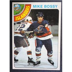 MIKE BOSSY ROOKIE 1978/79 TOPPS #115 EXCELLENT