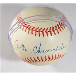 A B HAPPY CHANDLER AUTOGRAPHED BASEBALL