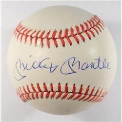MICKEY MANTLE AUTOGRAPHED BASEBALL