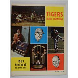 DETROIT TIGERS 1969 YEARBOOK World Champs! Al Kaline DENNY MCLAIN 68 Recap