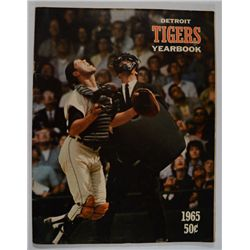 1965 DETROIT TIGERS OFFICIAL YEARBOOK