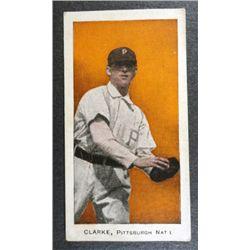 1910 E98 BASEBALL CARD CLARKE, PITTSBURGH NAT'L