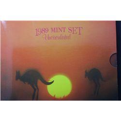 1989 Mint Sets