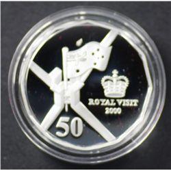 50c Fine silver Proof