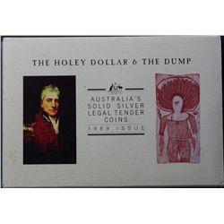 1989 Holey Dollar & Dump