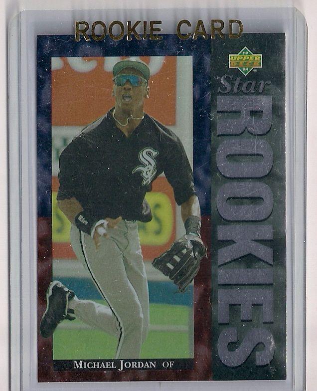 1994 Upper Deck Michael Jordan Rookie Baseball Card 19