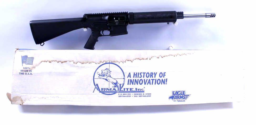 Armalite Mdl AR-10(T) Cal 7 62mm SN:US52099Semi auto AR-10 rifle