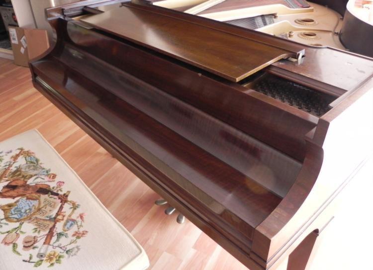 Baldwin Baby Grand Piano Mahogany Vintage Circa 1950