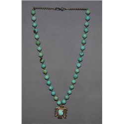RONDELL TURQUOISE BEADS