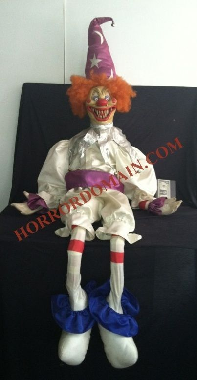 Scary Movie 2 Screen Used Matched Poltergeist Evil Clown Puppet