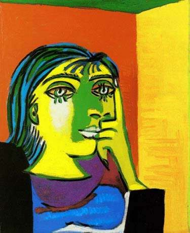 Pablo Picasso DORA MAAR Estate Signed /& Numbered Small Giclee Art