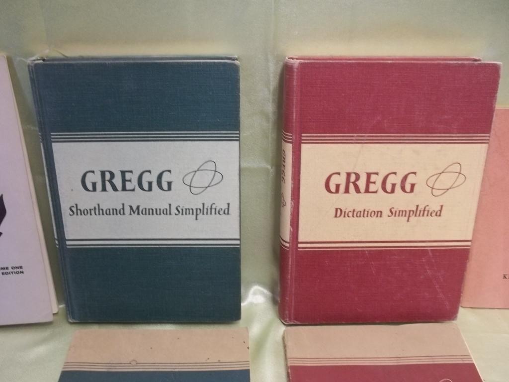 1949 - 1958 Gregg Shorthand & Dictation Books