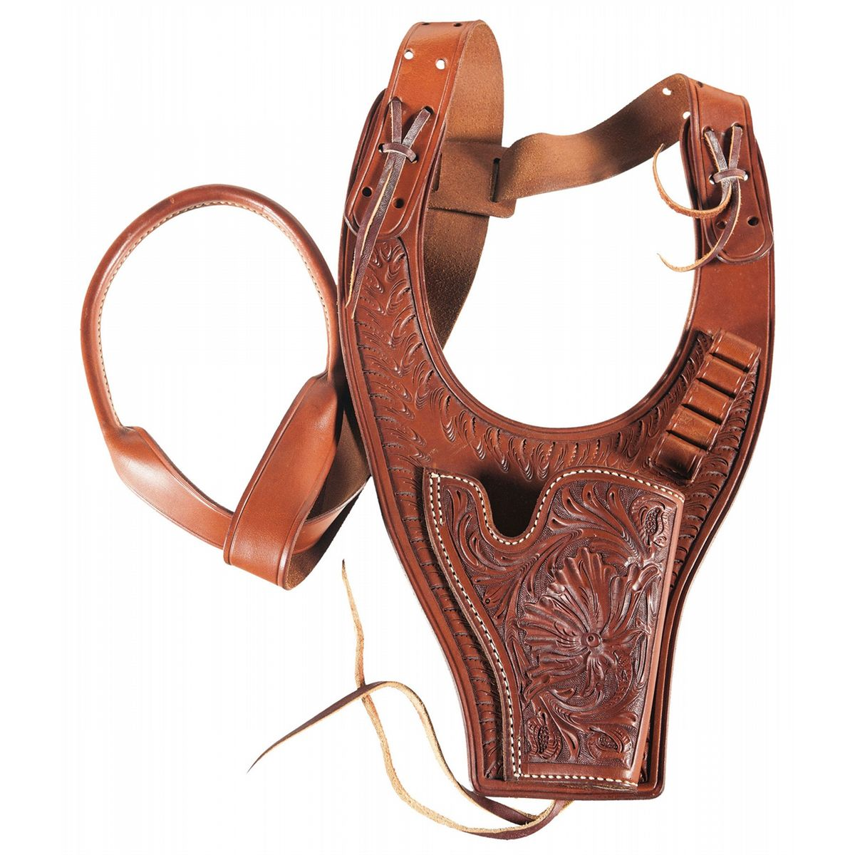 Colt Third Generation Single Action Army Sheriff's Model with Extra  Cylinder and Shoulder Holster
