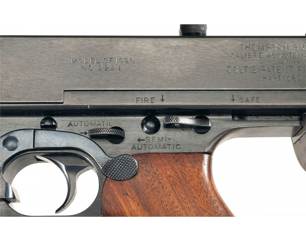 Excellent Early Colt Model 1921 Full Automatic Class III