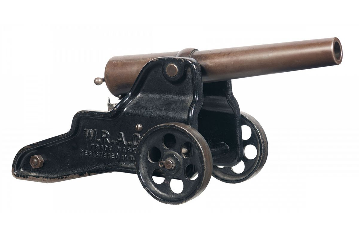 Winchester 10 Gauge Signal Cannon with Carriage