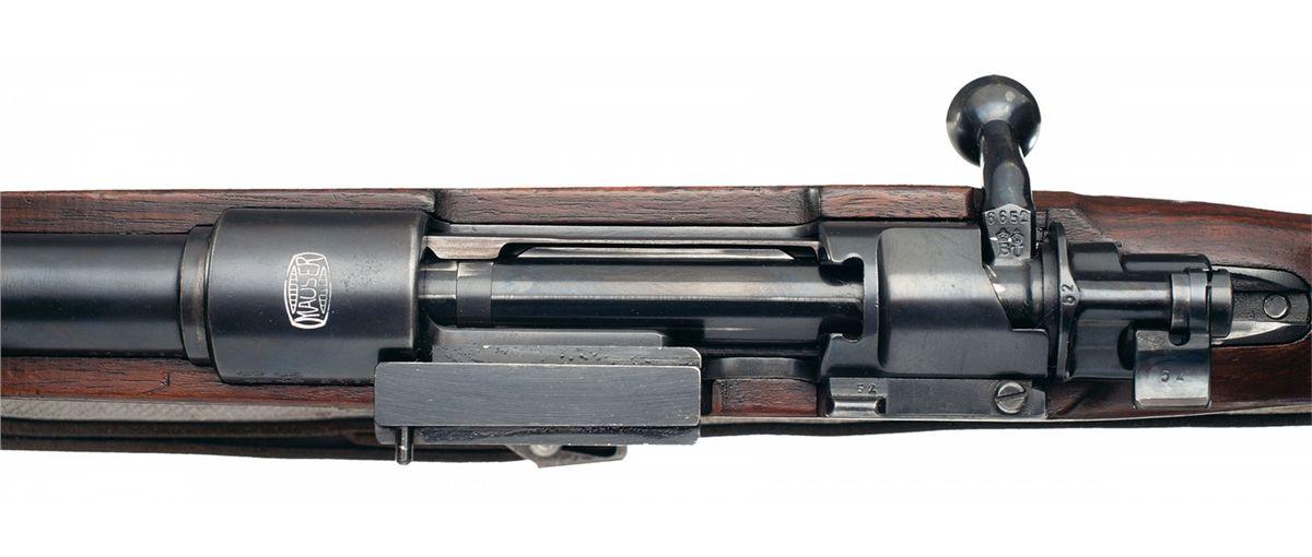 Rare Standard Model K98 Mauser Short Side Rail Sniper