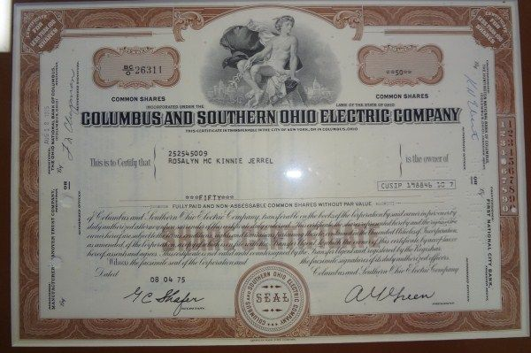 certificate ohio