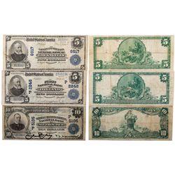 National Bank Notes, CA - ,